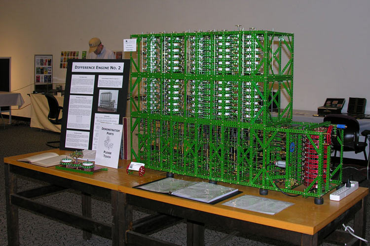 Charles Babbage's Difference Engine #2, Built by Tim Robinson