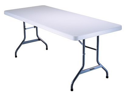 A rectangular table