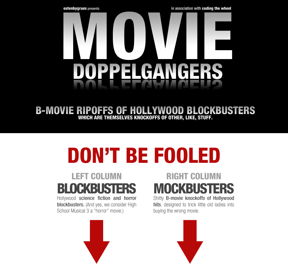 Movie Doppelgangers (Poster)